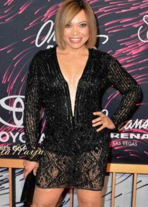 Tisha Campbell in an Instagram selfie from November 2016