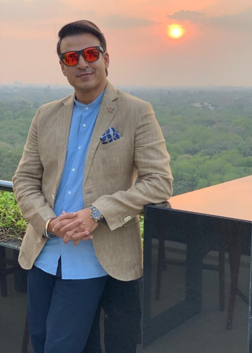 Vivek Oberoi as seen in an Instagram Post in March 2020