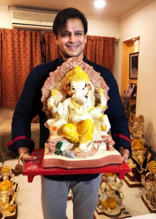 Vivek Oberoi as seen in an Instagram Post in September 2019
