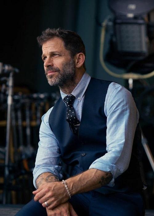 Zack Snyder as seen in an Instagram Post in August 2020