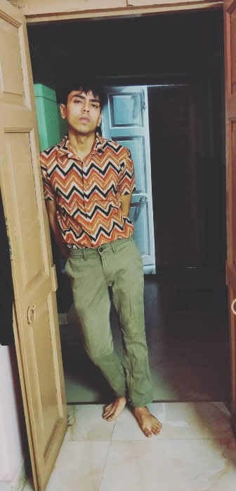 Adarsh Gourav as seen in an Instagram post in December 2020