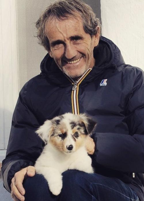 Alain Prost as seen in an Instagram Post in December 2019