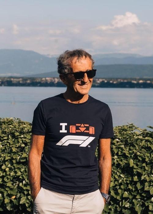 Alain Prost as seen in an Instagram Post in June 2020