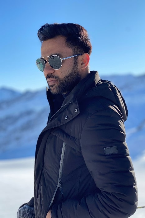 Ali Abbas Zafar in January 2020