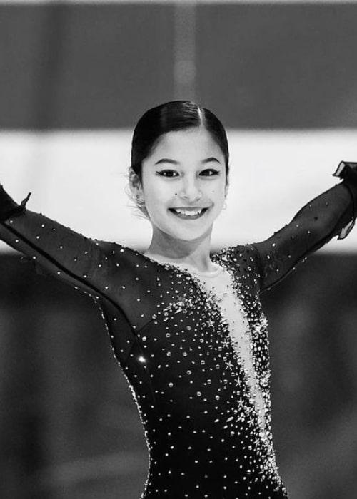 Alysa Liu as seen in an Instagram Post in November 2019