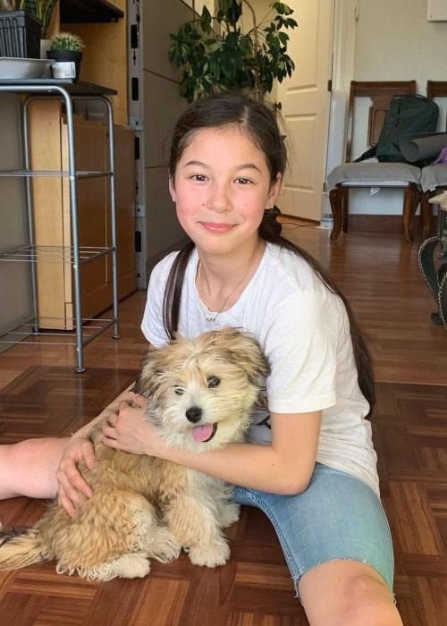 Alysa Liu as seen in an Instagram Post in September 2019