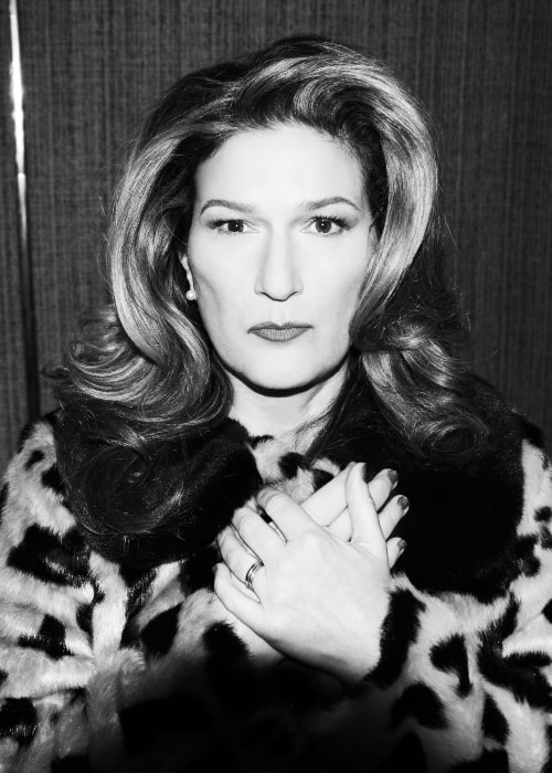 Ana Gasteyer in a picture that was taken in 2018