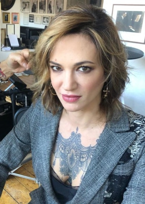 Asia Argento as seen in an Instagram Post in January 2021
