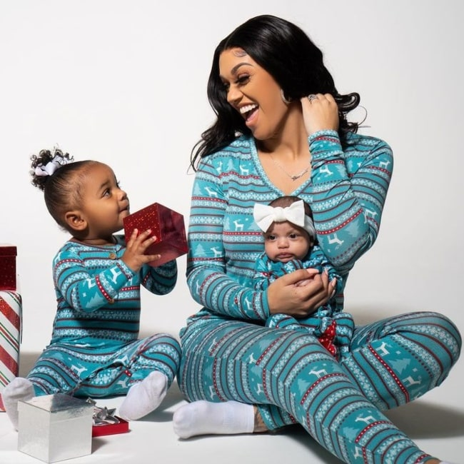 Ayla Faith Prince as seen in a picture that was taken with her mother Biannca Prince and sister Nova Grace Prince in December 2020