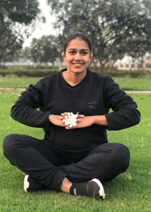 Babita Phogat as seen in an Instagram Post in January 2021