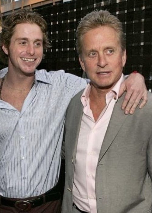 Cameron Douglas expressing his love to his father on Father's Day in June 2020
