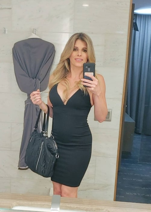 Cory Chase as seen in a selfie that was taken in October 2020