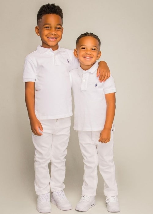 DJ Prince as seen in a picture that was taken with his brother Kyrie in October 2020