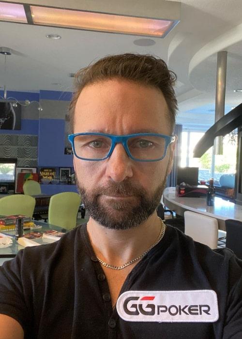 Daniel Negreanu in an Instagram selfie from November 2020