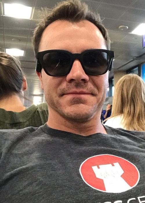 Daniel Rensch in an Instagram sefie from August 2019