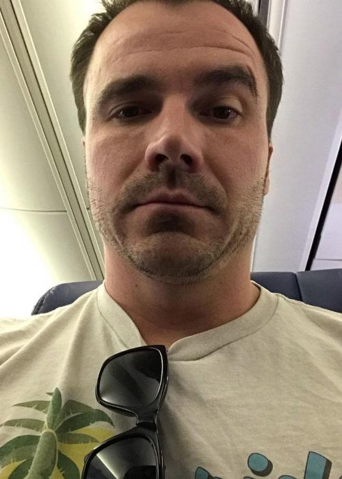 Daniel Rensch in an Instagram sefie from January 2020