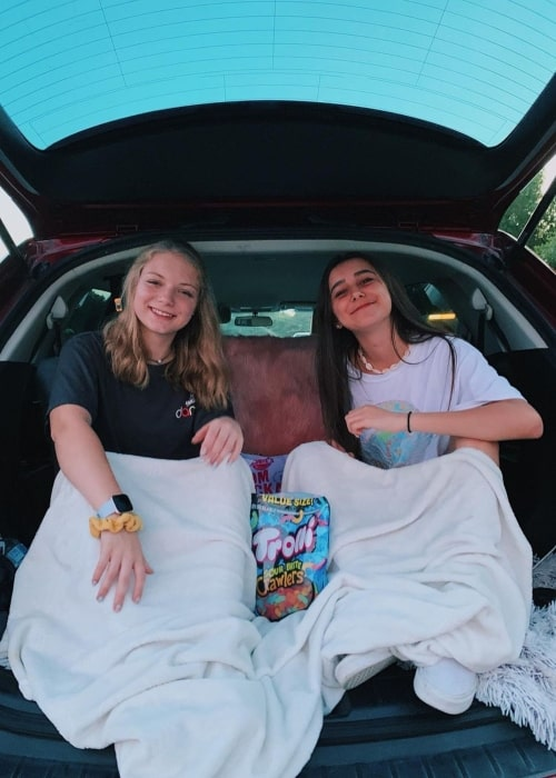 Emily Paulichi as seen in a picture that was taken with her friend Chloe Madison in July 2019
