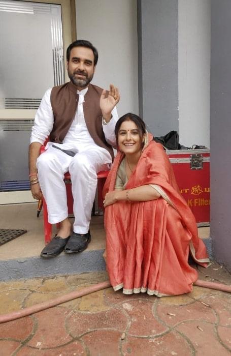 Isha Talwar and Pankaj Tripathi