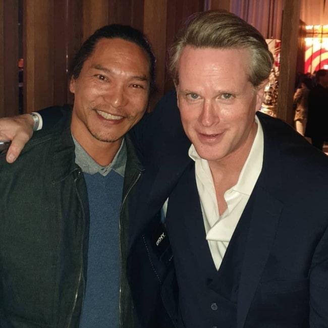 Jason Scott Lee (Left) and Cary Elwes in February 2020