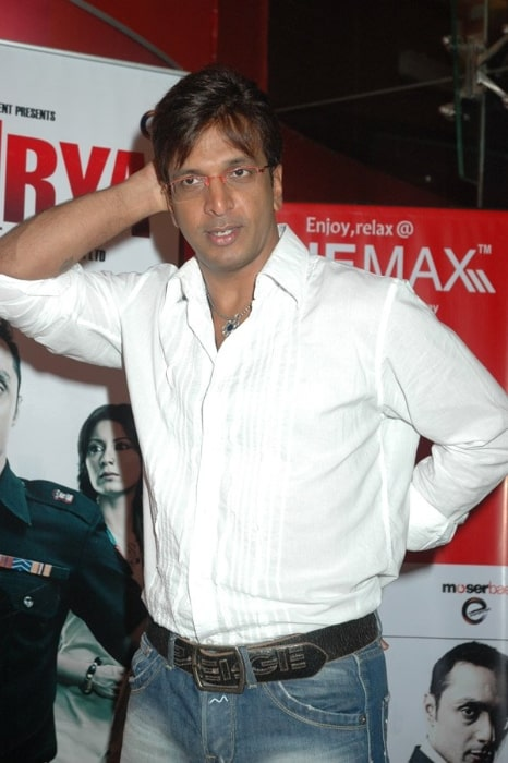 Javed Jaffrey at the audio release of 'Shaurya'