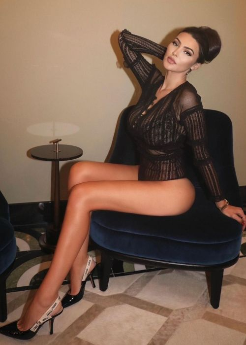 Jenna Jenovich as seen in a picture that was taken in December 2020