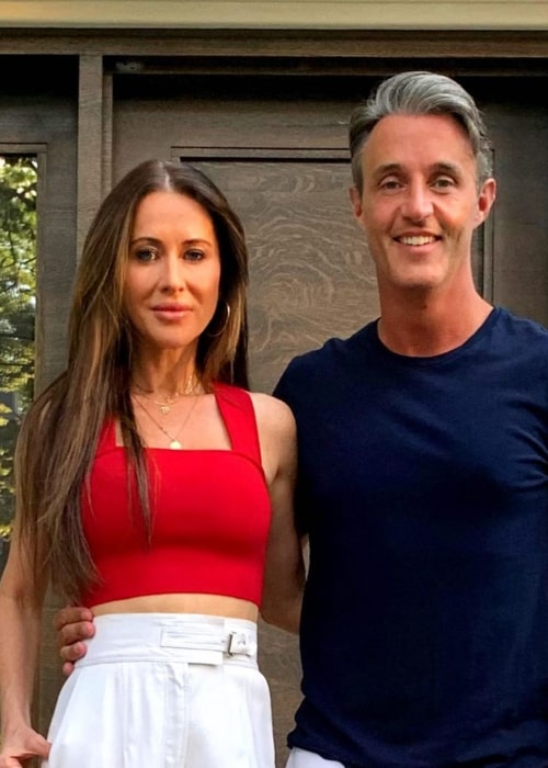 Jessica Mulroney and Ben Mulroney, as seen in March 2020