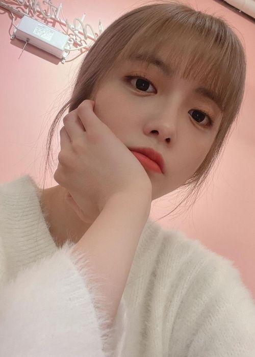 Ji Su-yeon as seen in November 2020