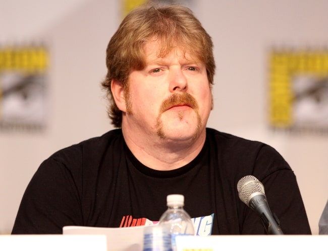 John DiMaggio as seen on the Futurama panel at the 2010 San Diego Comic Con in San Diego, California