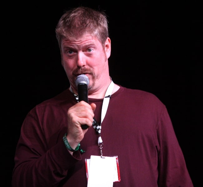 John DiMaggio as seen while speaking at the 2012 San Diego Comic-Con International in San Diego, California