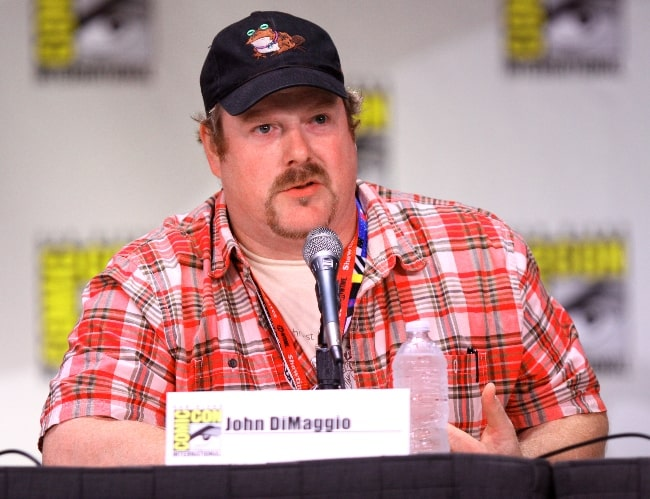 John DiMaggio pictured at the 2011 San Diego Comic-Con International in San Diego, California