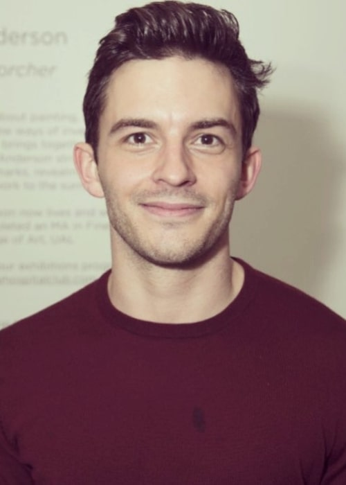 Jonathan Bailey in February 2018 at the Donmar Warehouse in Covent Garden in London