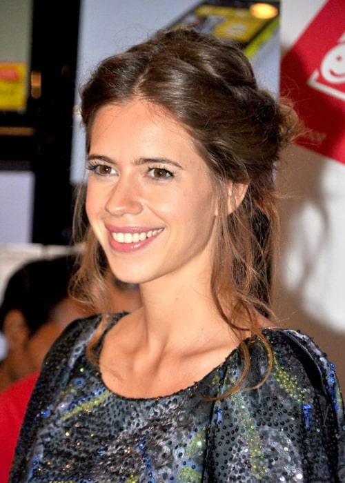 Kalki Koechlin pictured at a promotional event for Nokia Lumia