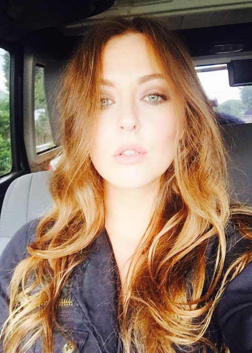 Katharine Isabelle in an Instagram selfie from July 2016