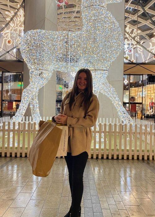 Katylee Bailey as seen in a picture that was taken in Leeds in December 2020