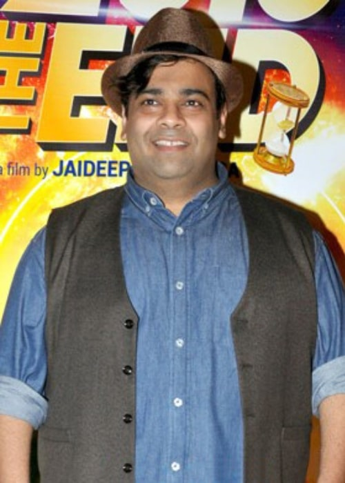 Kiku Sharda pictured at trailer and poster launch of the film '2016 The End'