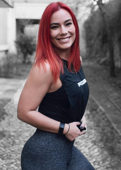 Killer Kelly as seen in a picture that was taken in January 2021