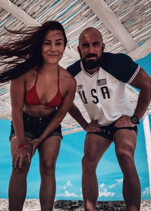Killer Kelly as seen in a picture that was taken with Alexander James in Cancun, Mexico in October 2020