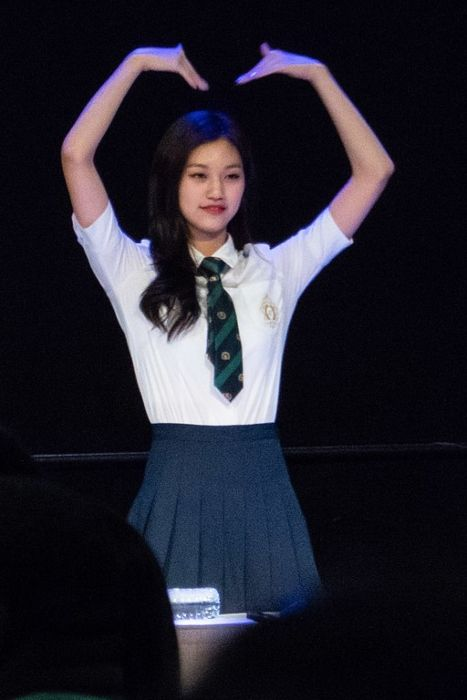 Kim Do-yeon as seen during an IOI fan engagement in 2016