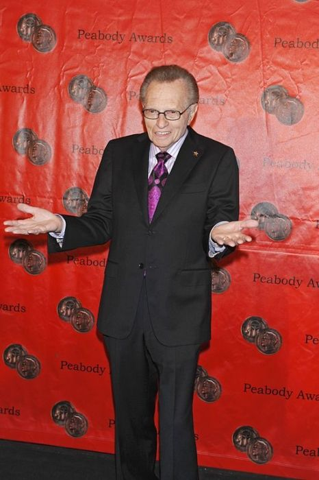 Larry King as seen at the Annual Peabody Awards Luncheon in 2011