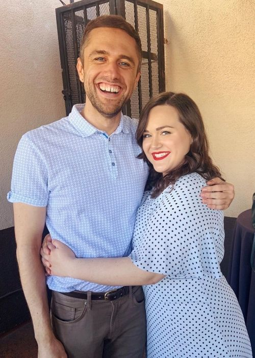 Lauren Holt and her best friend Chad Westbrook as seen together in 2020