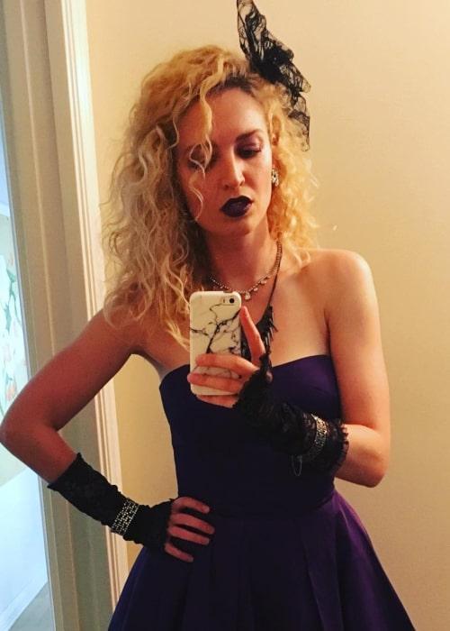Lauren Storm in an Instagram selfie from April 2019
