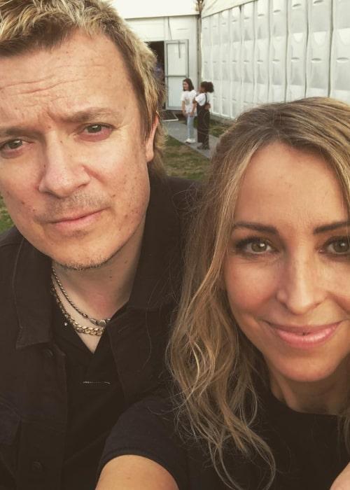 Liam Howlett and Natalie Appleton, as seen in an September 2018
