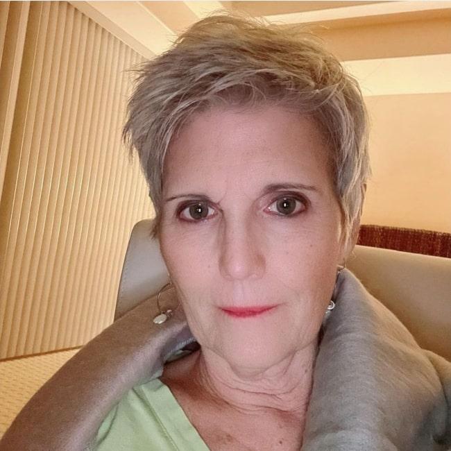 Lucie Arnaz as seen in a selfie that was taken in November 2020