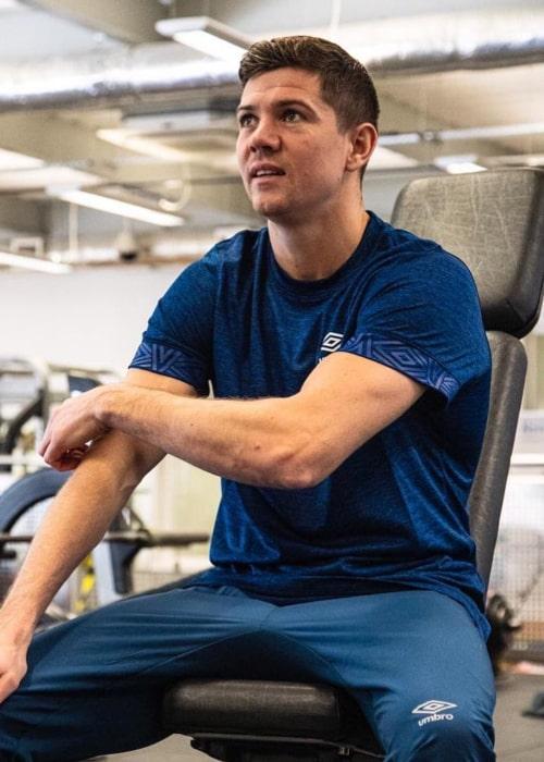 Luke Campbell as seen in an Instagram Post in August 2020
