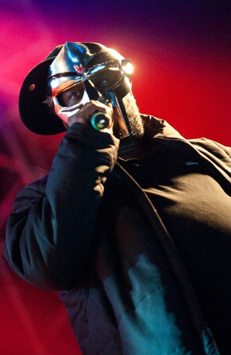 MF Doom as seen while performing at Hultsfred Festival in November 2011