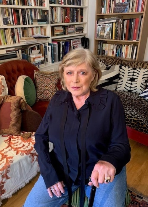 Marianne Faithfull as seen in an Instagram Post in May 2020