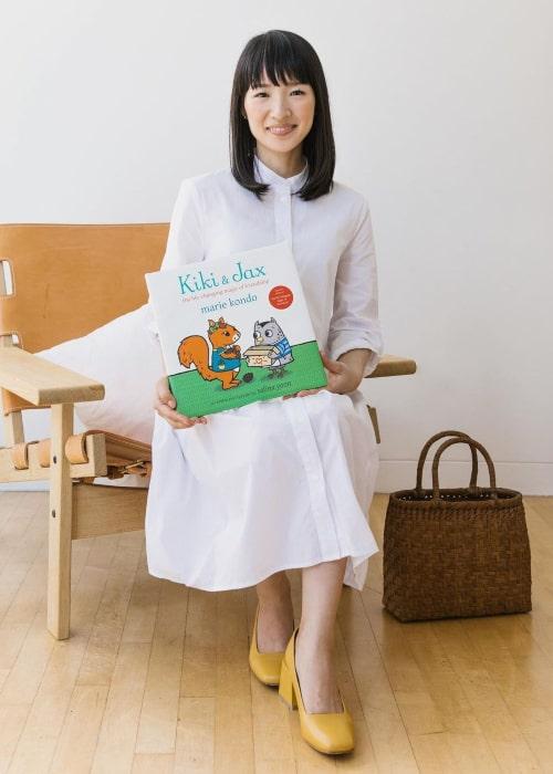 Marie Kondo as seen in an Instagram Post in September 2019