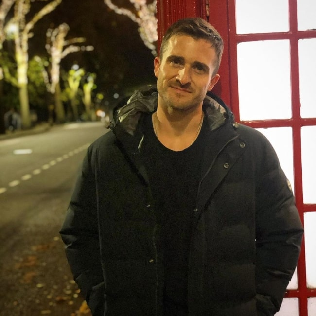 Matthew Hussey as seen in a picture that was taken in London, United Kingdom in November 2020