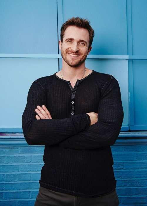 Matthew Hussey as seen in a picture that was taken in October 2020