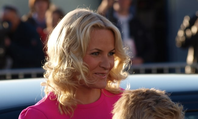 Mette-Marit, Crown Princess of Norway as seen during Eurovision 2010 in Oslo